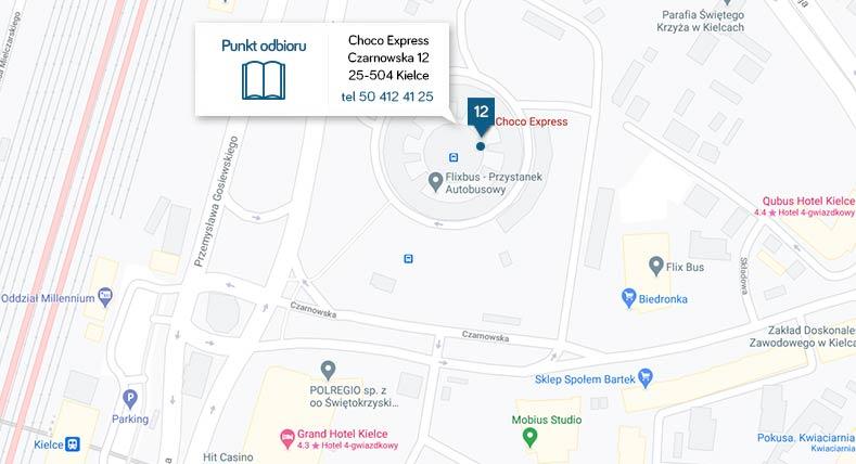 Odbiór osobisty za darmo w Kielcach