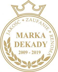 Marka dekady 2009-2019